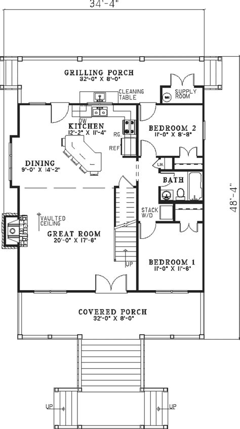 colwood vacation home plan 055d 0846 house plans and more