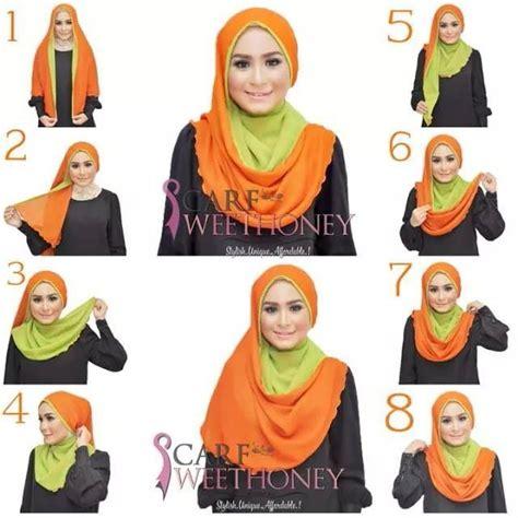 tutorial memakai niqab tutorial tudung hijab pinterest tutorials