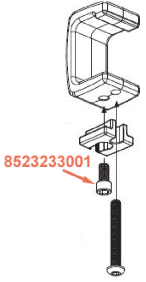 Ladder Rack Parts by Replacement Socket Cap For Thule Xsporter Pro Ladder Rack 3 8 Quot 16 X 3 4 Quot Thule