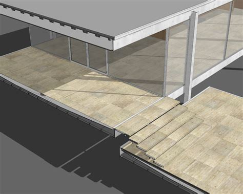 Bathroom Tiles Design India farnsworth house sketchup model peter guthrie