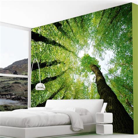 wall mural forest gallery for gt enchanted forest wallpaper mural