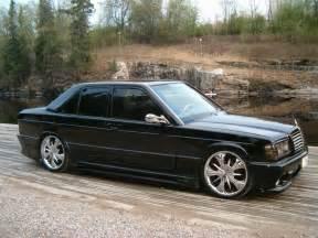 Mercedes W201 Mercedes W201 190e 2 6 White On Bbs Wheels Benztuning