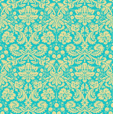 background pattern teal damask wallpaper 2 by insurrectionx on deviantart