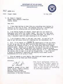 navy letter of appreciation template letter of appreciation from usaf to bill hargiss 1960