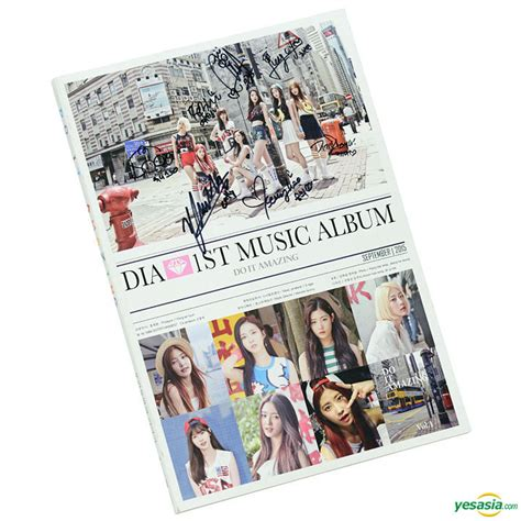 Dia Generation Album Limited Edition yesasia dia vol 1 do it amazing all members autographed cd limited edition cd dia