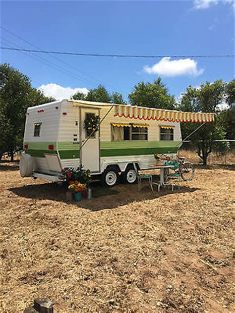 Tiny House Bnb by Vintage Trailer Camper 1976 Nomad Shabby Chic 70s Era