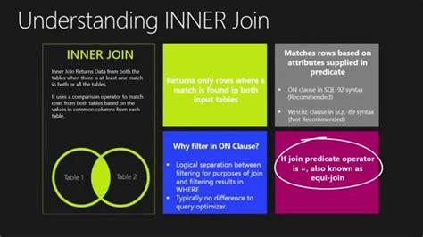 sql server inner join 1000 ideas about sql inner join on c