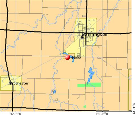 wellington ohio map 44090 zip code wellington ohio profile homes