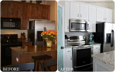 painted kitchen cabinets ideas before and after before and after painted kitchen cabinets ideas decor