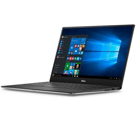 dell xps 13 buy dell xps 13 laptop silver free delivery currys