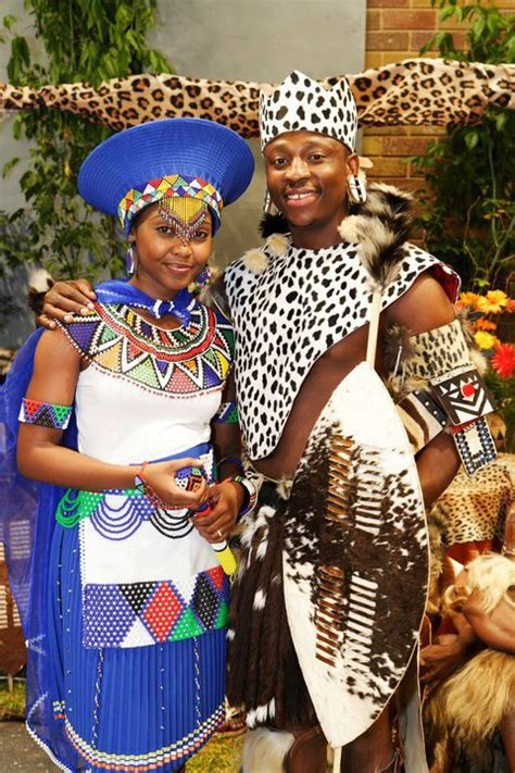 Traditional Wedding Attire Zulu by Twende Harusini Traditional Weddings Costumes