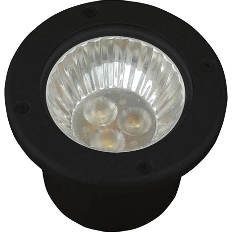 low voltage led well lights progress lighting low voltage led 20 watt equivalent black