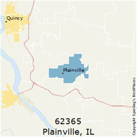 zip code map quincy il best places to live in plainville zip 62365 illinois