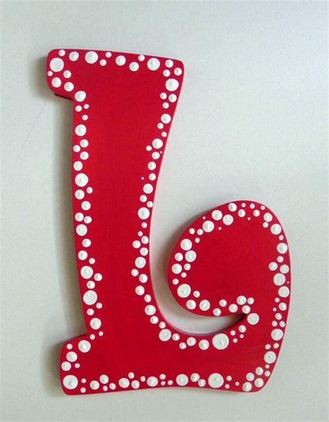 Letter Painting 25 Best Ideas About Painted Letters On Painting Letters Decorating Letters And