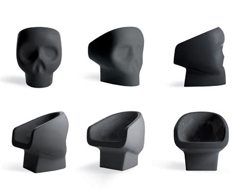 the angular skull armchair 15 badass skull chairs of all time