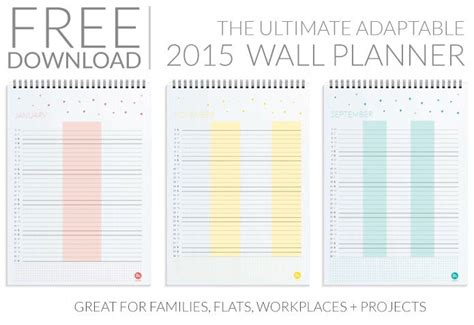 printable wall planner pinterest the world s catalog of ideas