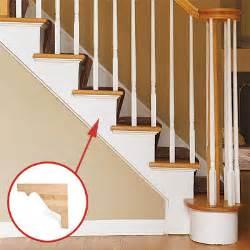 Stair Trim Stringer by Decorative Stair Brackets