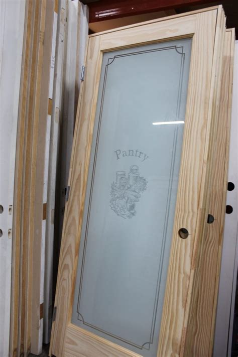 frosted glass interior pantry door pops discount