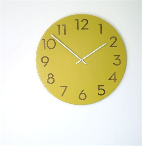 best modern wall clocks 18 best images about clock from etsy shop on pinterest