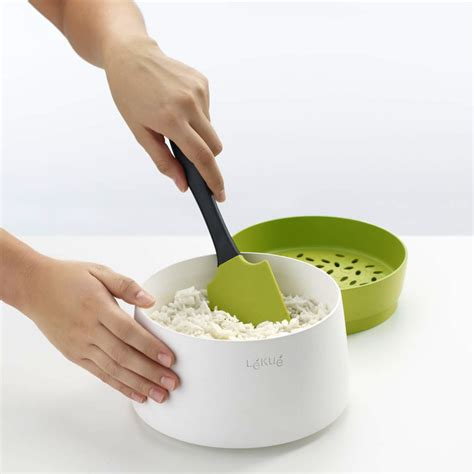Niple Silicon Rice Cooker lekue silicone microwave rice grain cooker 1 quart cutlery and more