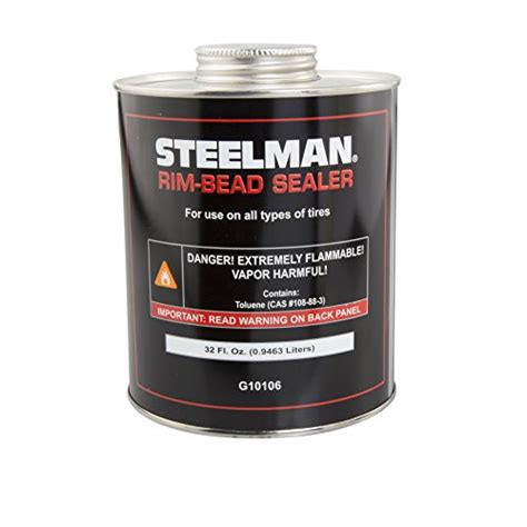 how to seal bead on tubeless tire steelman g10106 tire bead sealer 1 quart import it all