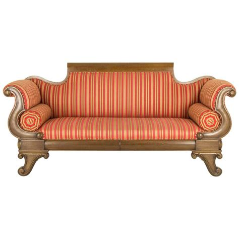 victorian settee furniture antique victorian mahogany scroll arm sofa or settee for