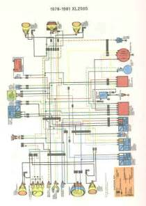 honda motorcycle wiring diagrams further xl 250 car
