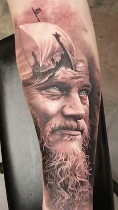 what are ragnar lothbroks head tattoos mejores 68 im 225 genes de tatoons en pinterest ideas de