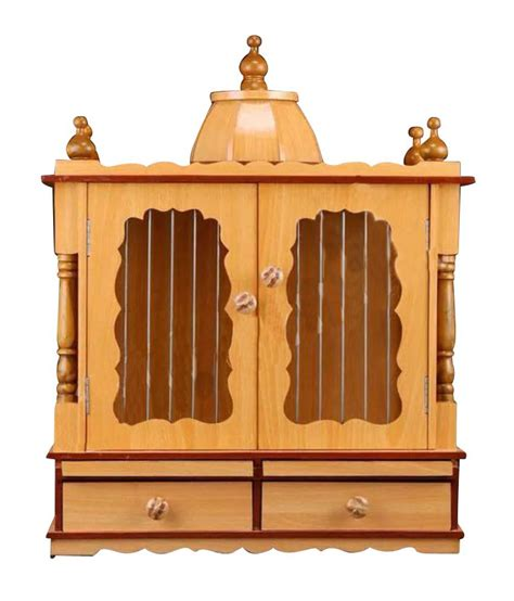 aarambh wooden temple with doors buy aarambh wooden
