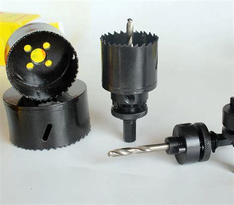 Holesaw Besi Bi Metal 51 Mm Wipro 51mm hss bi metal saw pipe reamers stainless steel saws black 3 wholesale in
