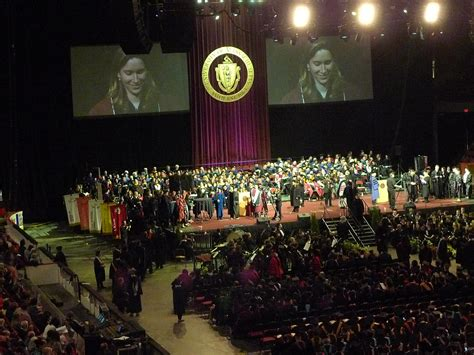 Umass Amherst Mba Graduation by Graduate Commencement At Umass Amherst Honors Student