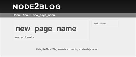 simple node js blog github jawerty node2blog a simple and easy to setup