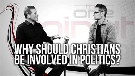 Political Involving by 394 Why Should Christians Be Involved In Politics