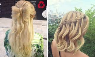 prom hairstyles half up half down for medium hair Page 2 collections