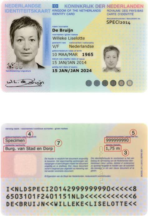 burgerservicenummer op id kaart