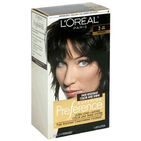 l oreal superior preference hair loreal superior preference 3 soft black
