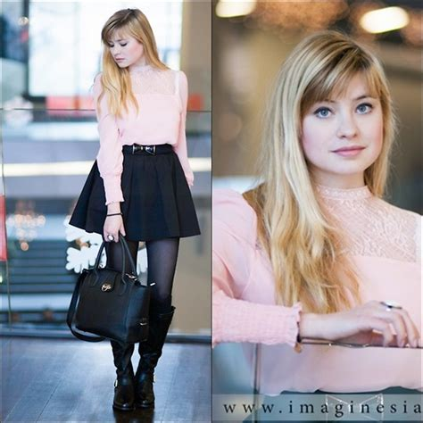 Ribbon Blouse Pita 52199 pita w walking lie lookbook