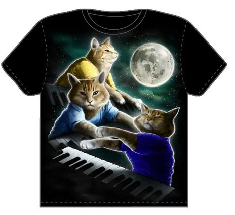 Wolf T Shirt Meme - keyboard cat t shirt boing boing