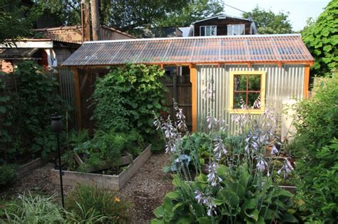 Backyard Quonset Hut Mill Hill Garden Shed Industrial Other Metro By
