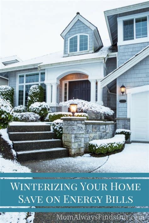 winterizing your home 5 ways to save on energy bills