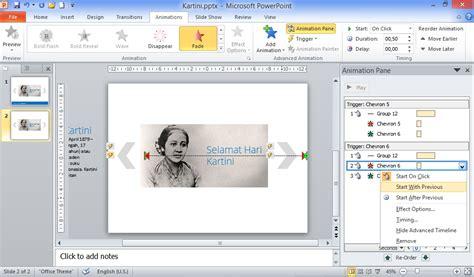 membuat powerpoint berjalan otomatis cara membuat slideshow dengan navigasi sederhana bag 2