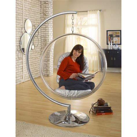 Brown Chandelier Bubble Chair Stand Only