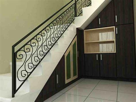 lemari  bawah tangga rumah interior rumah