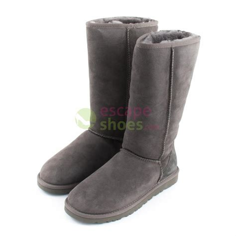 grey ugg boots for boots ugg australia classic 5815 grey escapeshoes