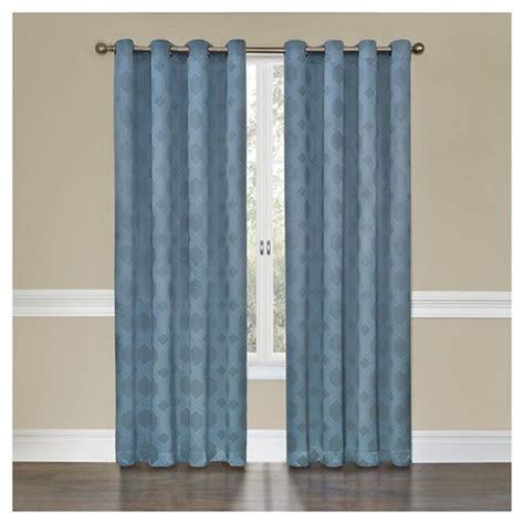 eclipse gray curtains eclipse tatum curtain panel grey 52 quot x95 quot target