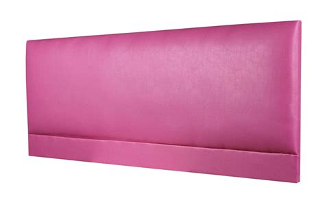 pink leather headboard raffles faux leather headboard