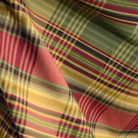Anticipation 711 Faux Silk Plaid Drapery Fabric