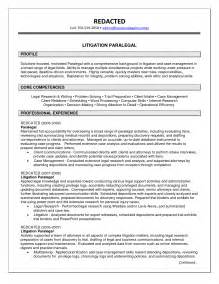 Examples Of Paralegal Resumes Objective For Paralegal Resume