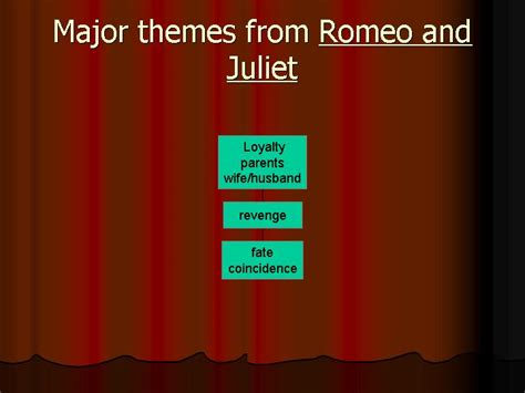 main theme of romeo and juliet story major themes from romeo and juliet презентация 1572 5
