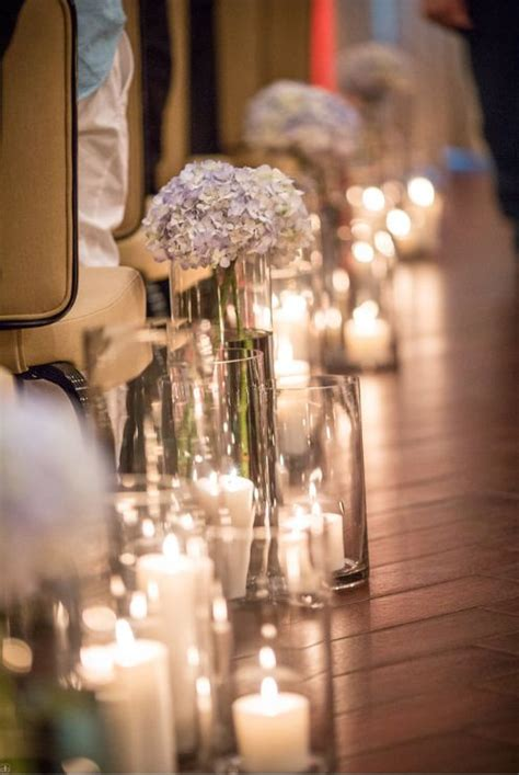 Wedding Aisle With Tables by 1000 Ideas About Wedding Aisle Candles On